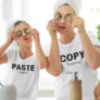 Kép 2/3 - caopy and paste anya-lánya póló csomag