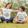 Kép 4/4 - Legjobb barátok anya-fia páros póló