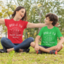 Kép 2/4 - Legjobb barátok anya-fia páros póló