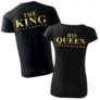 Kép 2/2 - The king & his queen póló
