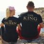 Kép 1/2 - His Queen & The King páros póló
