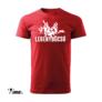 Kép 1/5 - legénybúcsú nagy piálás piros póló
