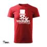 Kép 3/6 - Vőlegény különitménye piros legénybúcsú póló