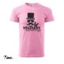 Kép 2/6 - Vőlegény különitménye rózsaszín legénybúcsú póló